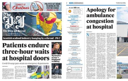 The Press and Journal Moray – December 22, 2020