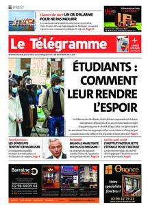 Le Télégramme Brest – 26 janvier 2021