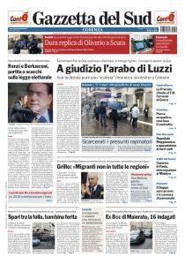 Gazzetta del Sud Cosenza - 5 Gennaio 2017