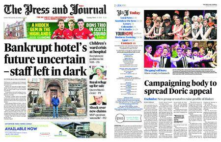 The Press and Journal Moray – March 13, 2018