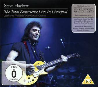 Steve Hackett - The Total Experience Live In Liverpool (2016) {2CD+2DVD InsideOut Music 88985326322}