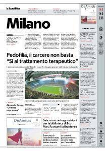 la Repubblica Milano - 4 Aprile 2018