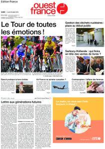 Ouest-France Édition France – 29 juillet 2019