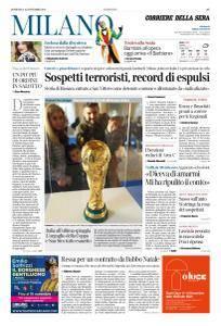Corriere della Sera Milano - 12 Novembre 2017