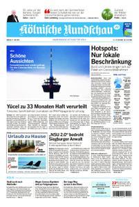 Kölnische Rundschau Wipperfürth/Lindlar – 17. Juli 2020