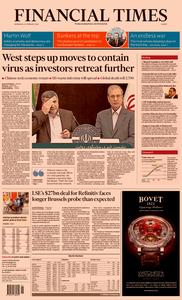 Financial Times Europe – 26 February 2020