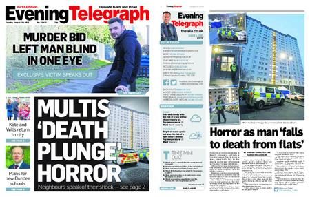 Evening Telegraph First Edition – January 29, 2019
