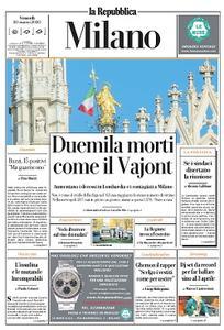 la Repubblica Milano - 20 Marzo 2020