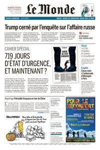 Le Monde du Mercredi 1 Novembre 2017
