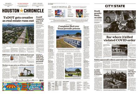Houston Chronicle – October 22, 2020