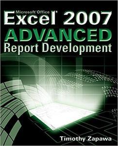 Excel 2007 Advanced Report Development