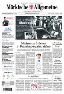 Märkische Allgemeine Zossener Rundschau - 16. August 2018