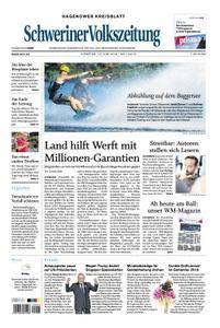 Schweriner Volkszeitung Hagenower Kreisblatt - 12. Juni 2018