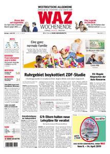 WAZ Westdeutsche Allgemeine Zeitung Oberhausen-Sterkrade - 06. April 2019