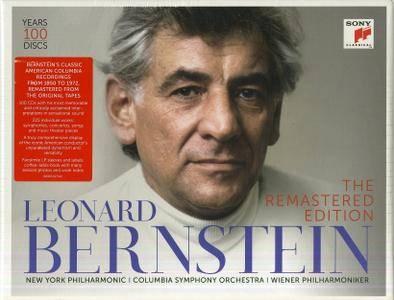 Leonard Bernstein - The Remastered Edition Part 1 (100CD Box Set, 2017)