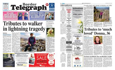 Border Telegraph – June 12, 2019