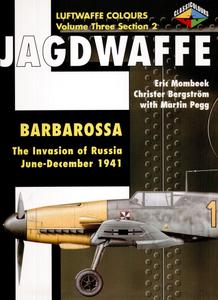 """Eric Mombeek, """"Jagdwaffe: Barbarossa. The Invasion of Russia June - December 1941"""", Volume Three Section 2"""