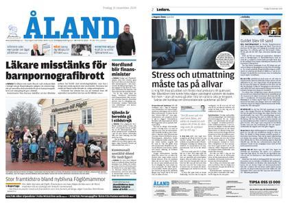 Ålandstidningen – 15 november 2019