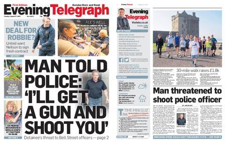 Evening Telegraph First Edition – August 27, 2019
