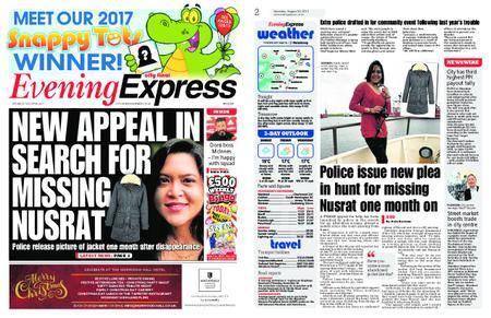 Evening Express – August 26, 2017