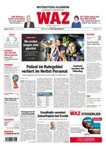 WAZ Westdeutsche Allgemeine Zeitung Oberhausen-Sterkrade - 09. Juli 2018