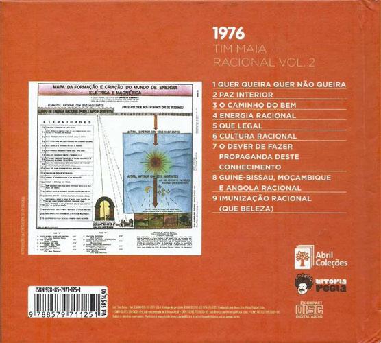 Tim Maia - Racional Vol. 2 (1976) {2011 Abril ColeCoes/Vitoria Regia}