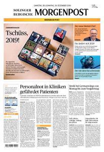 Solinger Morgenpost – 28. Dezember 2019