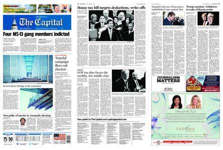 The Capital – November 03, 2017