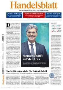 Handelsblatt - 24. September 2018