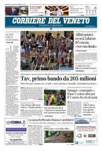 Corriere del Veneto Padova e Rovigo – 07 agosto 2019