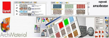 Cigraph ArchiMaterial v1.08 For Archicad 12