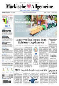 Märkische Allgemeine Luckenwalder Rundschau - 21. August 2018