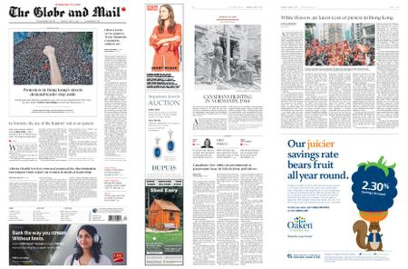 The Globe and Mail – June 17, 2019