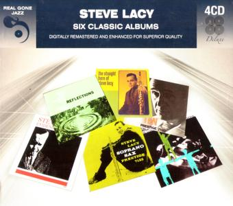 Steve Lacy - Six Classic Albums (2017) 4CD Box Set