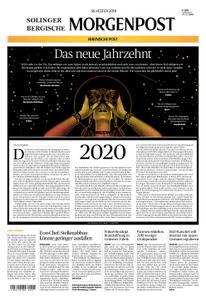 Solinger Morgenpost – 31. Dezember 2019