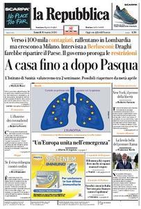 la Repubblica - 30 Marzo 2020