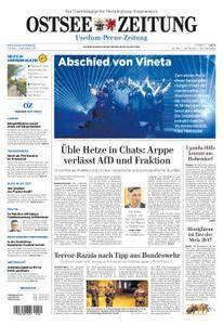 Ostsee Zeitung Wolgast - 01. September 2017