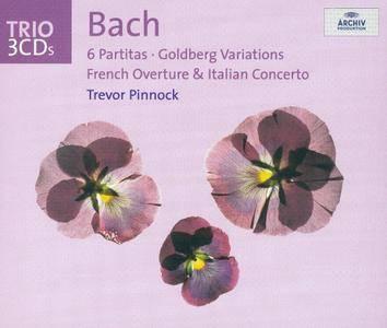 Trevor Pinnock - Bach: 6 Partitas; Goldberg Variations; French Overture; Italian Concerto (2003)
