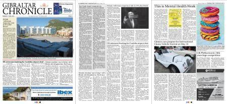 Gibraltar Chronicle – 07 May 2018