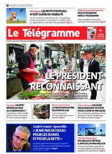 Le Télégramme Brest Abers Iroise – 23 avril 2020