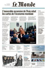 Le Monde du Jeudi 4 Janvier 2018