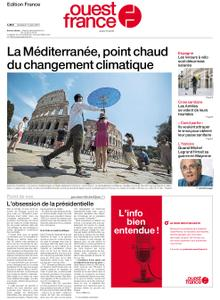 Ouest-France Édition France – 13 août 2021