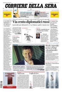 Corriere della Sera - 27 Marzo 2018