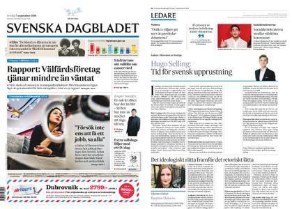 Svenska Dagbladet – 07 september 2018