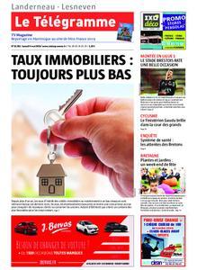 Le Télégramme Landerneau - Lesneven – 04 mai 2019