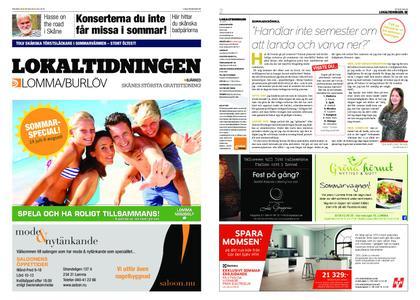 Lokaltidningen Lommabladet – 20 juli 2019