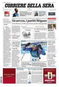 Corriere della Sera - 12 Febbraio 2018