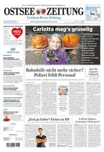 Ostsee Zeitung Wolgast - 26. Oktober 2017