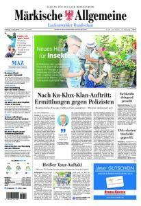 Märkische Allgemeine Luckenwalder Rundschau - 01. Juni 2018