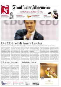 Frankfurter Allgemeine Sonntags Zeitung - 17 Januar 2021